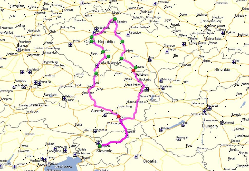 pot češka